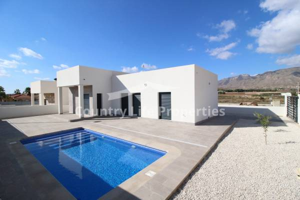 Villa - New Build - Hondon De Los Frailes - Countryside